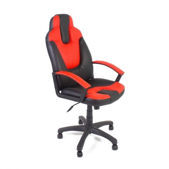 Кресло NEO2 офисное черное красное