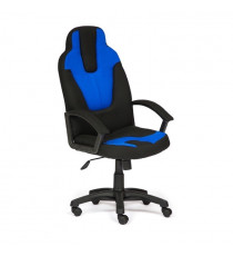 Кресло компьютерное NEO-3 (ткань, черный/синий)