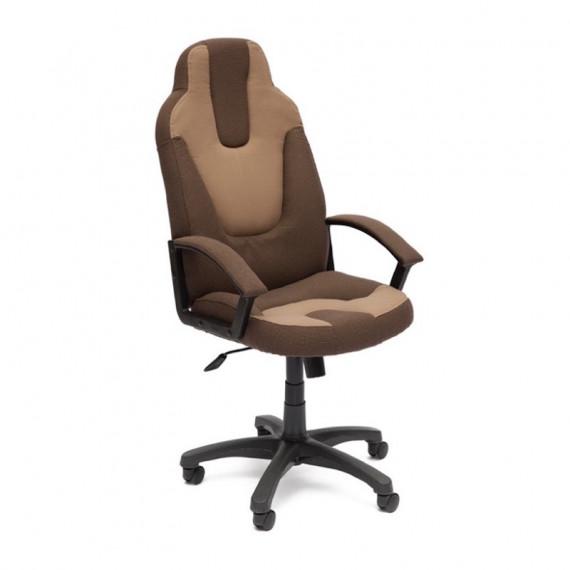 Кресло компьютерное NEO-3 (ткань, коричневый/бежевый)