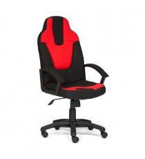 Кресло компьютерное NEO-3 (ткань, черный/красный)
