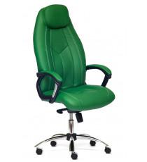 Кресло офисное Boss lux (Искусственная зелёная кожа)