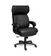 Кресло компьютерное «Chief» (Искусств. чёрная кожа)