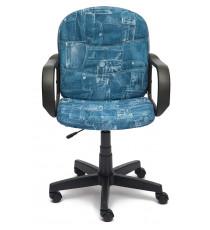 """Кресло компьютерное BAGGI (ткань, """"Джинса"""")"""