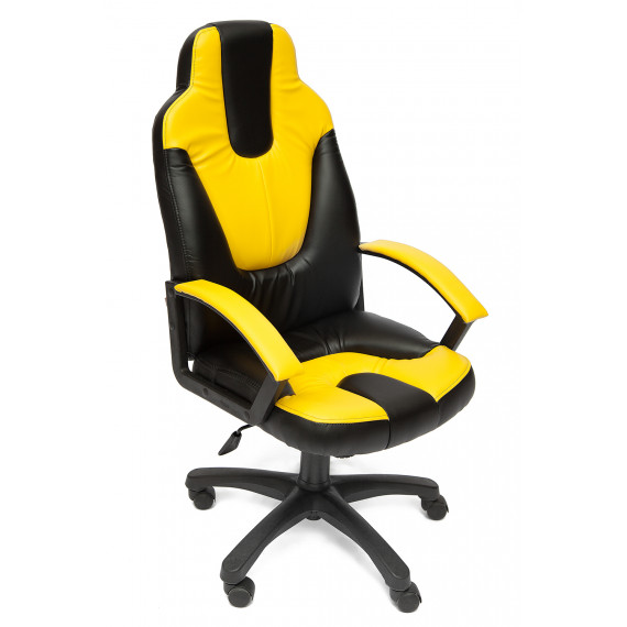 Кресло NEO2 офисное черное - желтое