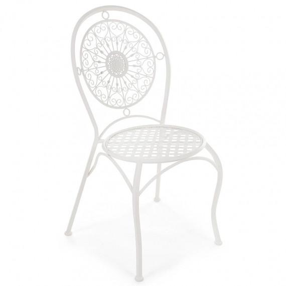 Кованый стул Secret De Maison «Глория» (Gloria) (Белый)