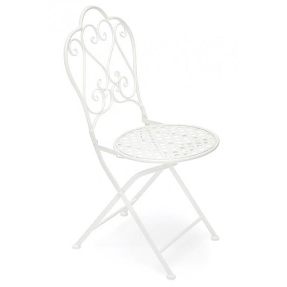 Кованый стул Secret De Maison «Лав Чэйр» (Love Chair) (Белый)