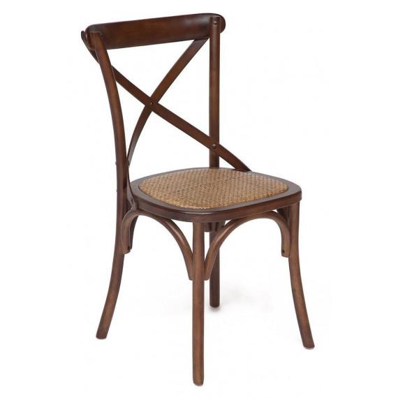 Стул Secret De Maison «Cross Chair» (Кросс Чер) mod.CB2001 (Тёмный орех)
