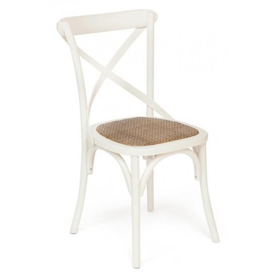 Стул Secret De Maison «Cross Chair» (Кросс Чер) mod.CB2001 (Butter white (слоновая кость)
