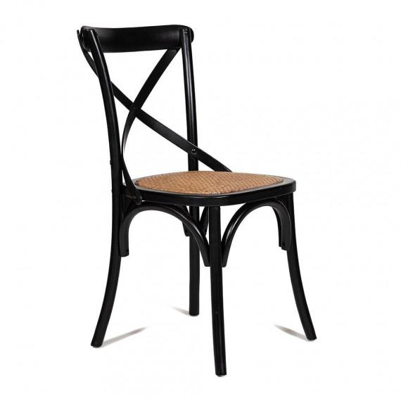 Стул Secret De Maison «Cross Chair» (black) mod.CB2001 (Чёрный)