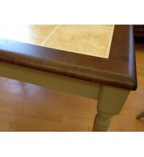 Стол Roma Tile 75х105/133 см (серо-зеленый)