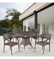 Комплект плетеной мебели T220CG/Y90CG-W1289 Pale 4Pcs