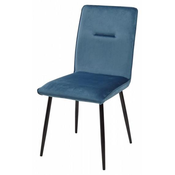 Стул VINCENT G062-45 пудровый синий, велюр