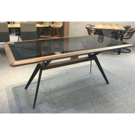 Стол LINKOR SDT-605 WALNUT/ BLACK