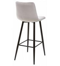 Барный стул LECCO UF910-02 LIGHT GREY, велюр