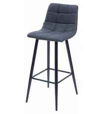 Барный стул SPICE RU-03 синяя сталь, PU