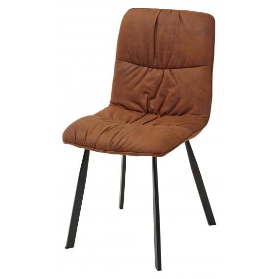 Стул BUFFALO коричнево-рыжий винтажный, микрофибра PK-02