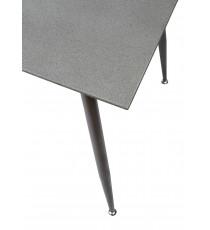 Стол DIRK  BTC-F056 бежево-серый