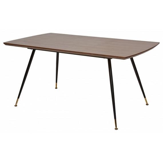 Стол MESSI 160 см орех