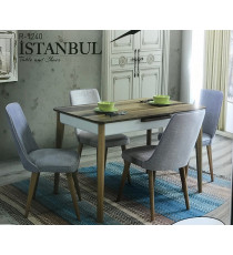 Стол  ISTANBUL орех 120 см