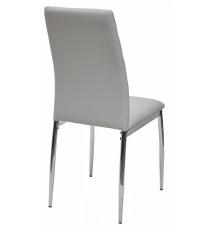 Стул DESERT 603 светло-серый, экокожа