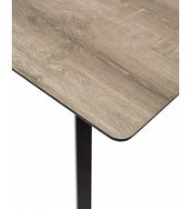 Стол ICEY #4 140 см дуб серо-коричневый